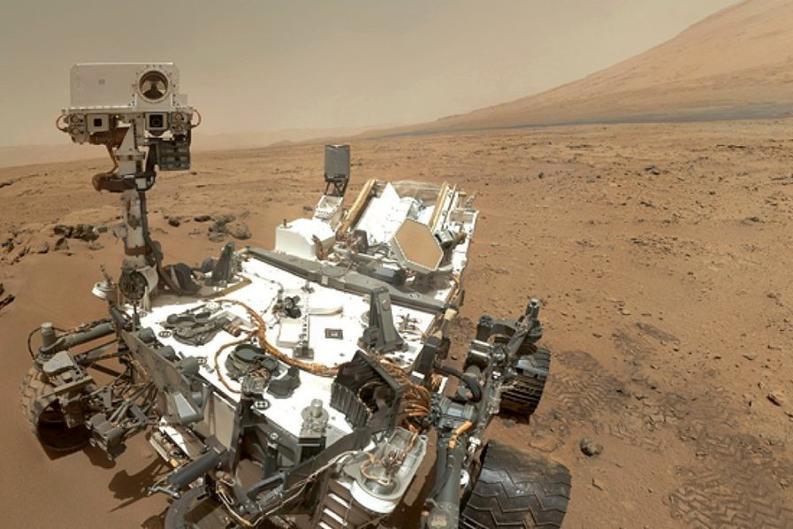 Марса, Аппарат NASA передал на Землю первые данные с Марса