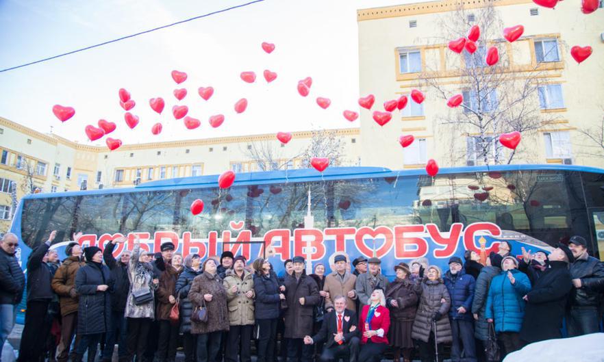 Проект Добрый автобус Сабины Цветковой