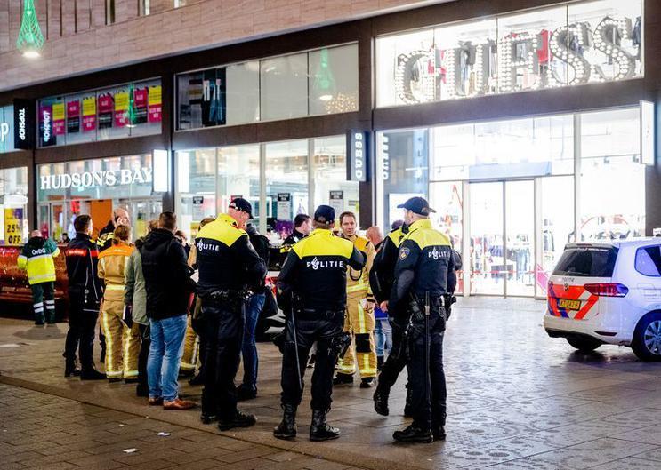 Нападение на прохожих в Гааге