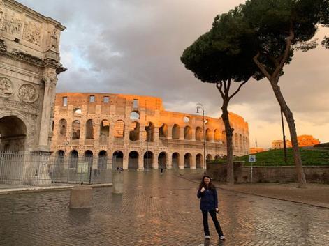 Колизей в Риме после введения карантина
