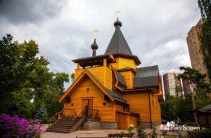 церковь Николая Чудотворца в Соломенной Сторожке