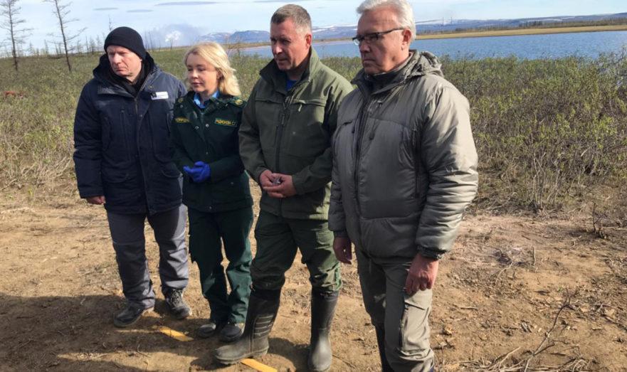 Губернатор Александр Усспринял участие в ликвидации аварии