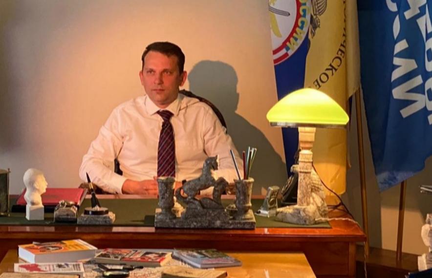 Руководитель карельского отделения «Офицеров России» Валерий Таборов