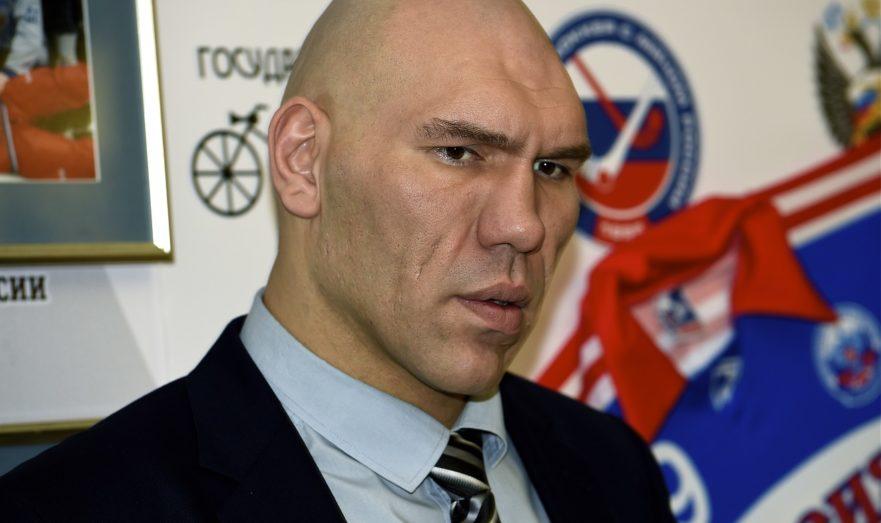 Чемпион мира Николай Валуев