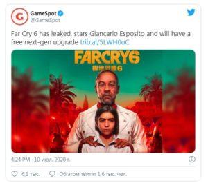 """сериал, В игре Far Cry 6 появится звезда сериала """"Во все тяжкие"""""""