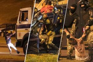 задержанными, Ломали руки и пугали изнасилованием: Как обращались с задержанными во время протестов в Белоруссии