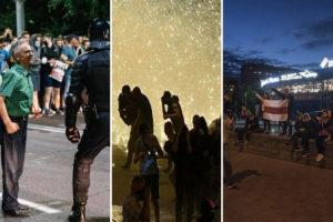 Белоруссии, Отключение интернета и штурмы домов: Хроника третьей ночи протестов в Белоруссии