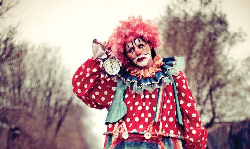 Клоун и время