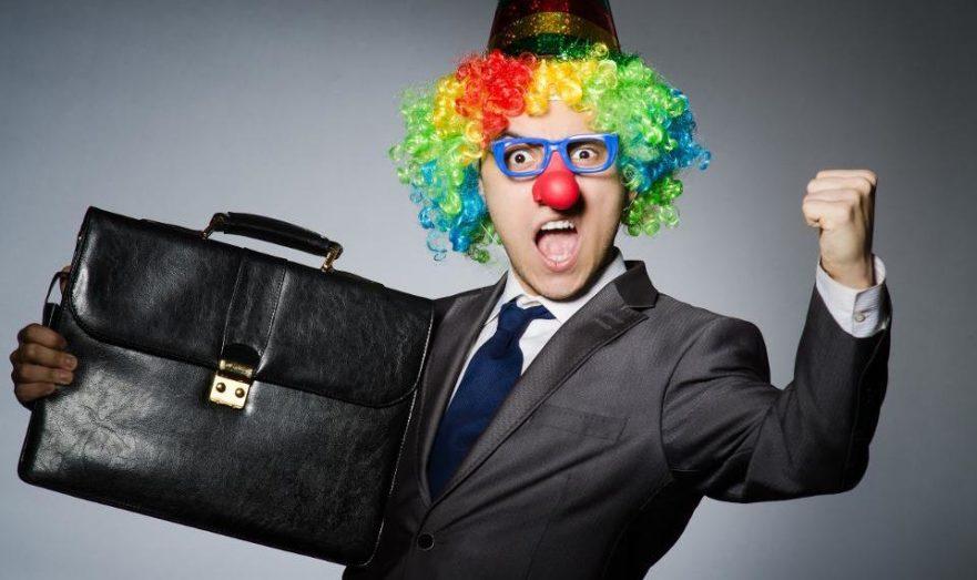 Клоун-юрист
