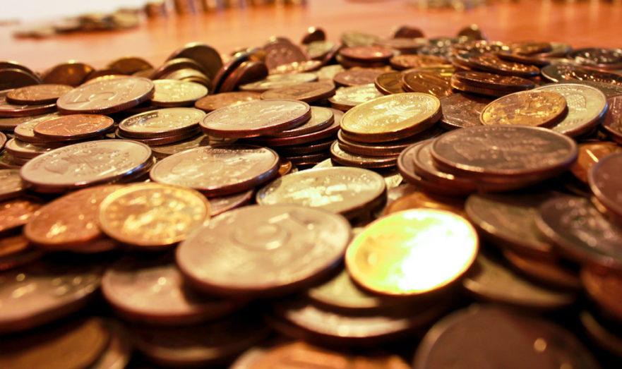 Гора денег