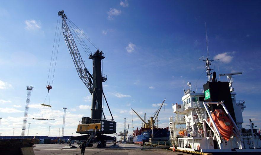 Усть-Луга — самый большой порт на Балтике