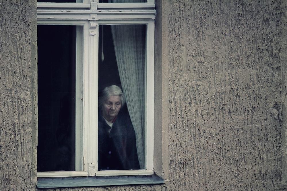 Бабушка в изоляции