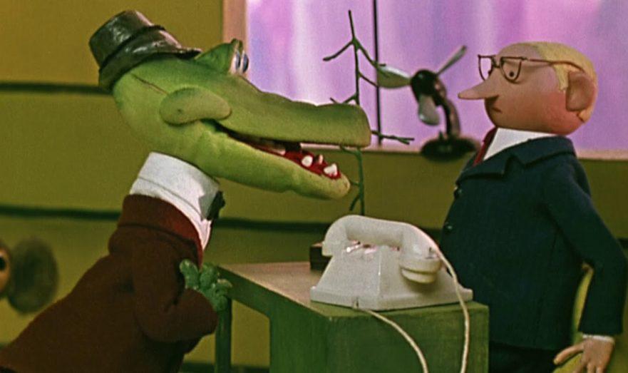 Крокодил Гена и чиновник
