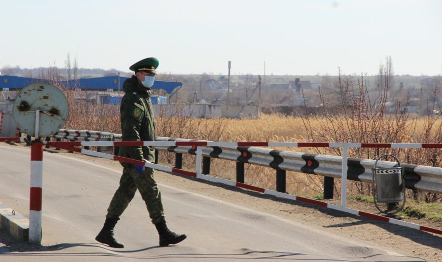 Молдавский пограничник