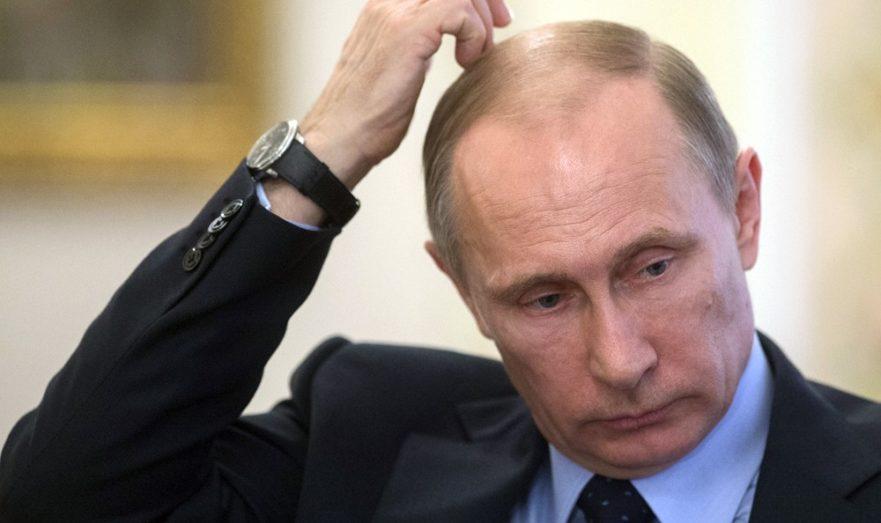 Путин в раздумьях