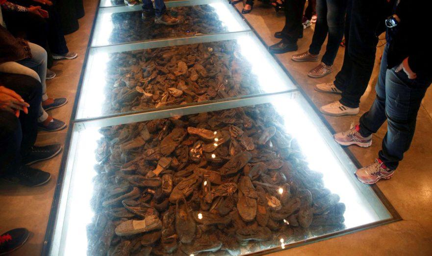 Экспонат музея Холокоста Яд ва-Шем в Израиле