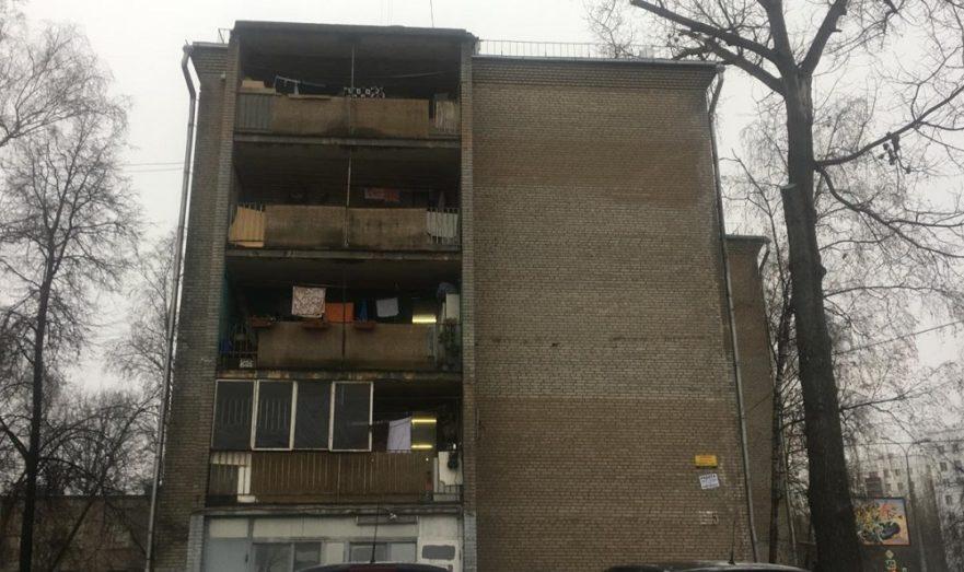 Проблемная пятиэтажка на 9-й Парковой улице.