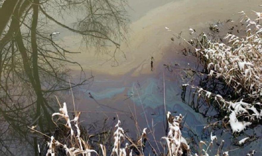 Загрязнение реки Ичка.