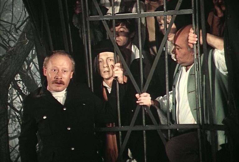 Актёры в клетке