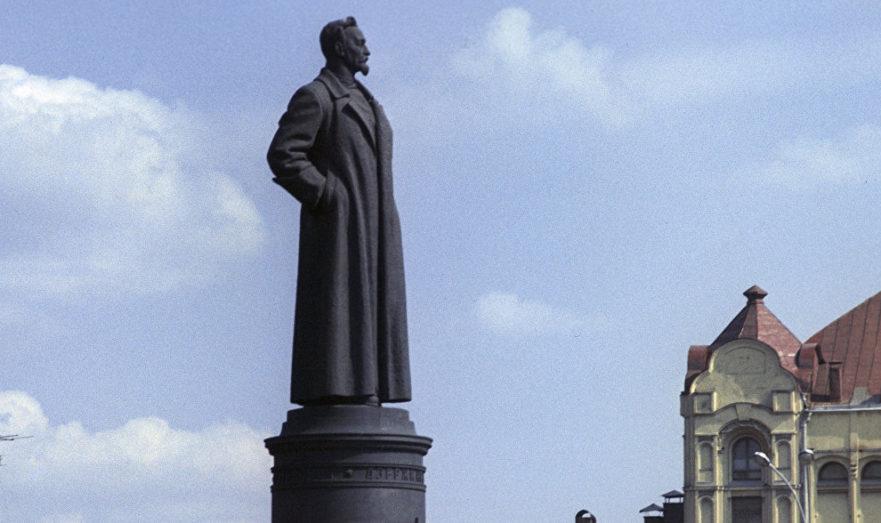 Памятник Железному Феликсу.