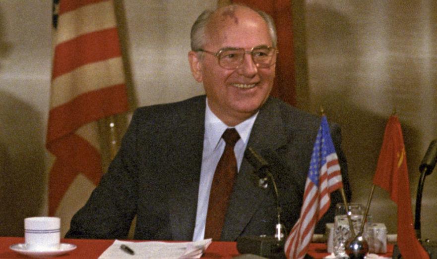Михаил Горбачёв на Мальте