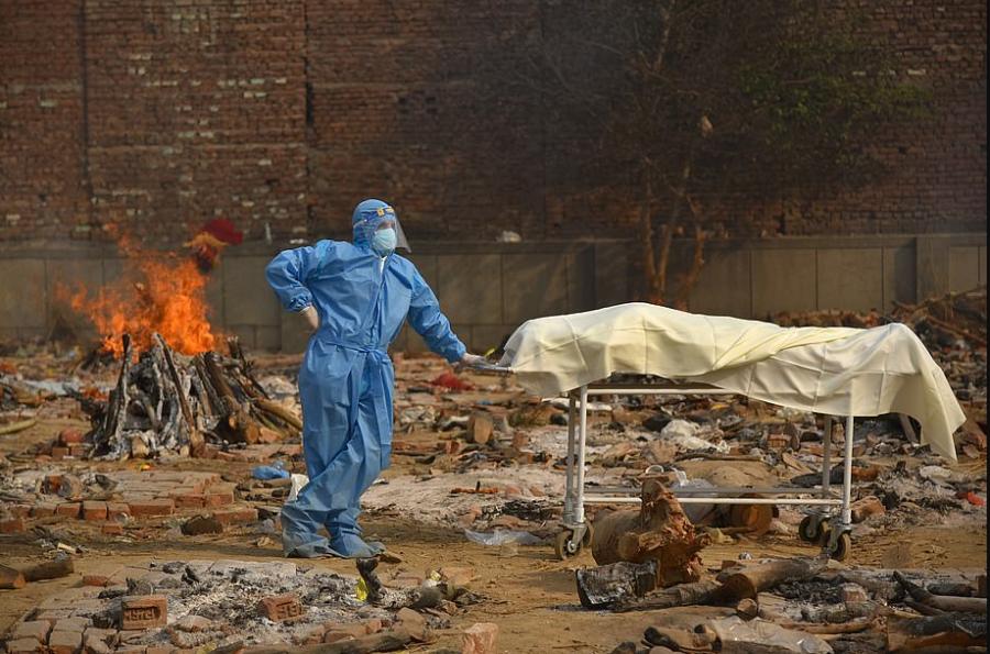 Индия в пандемию