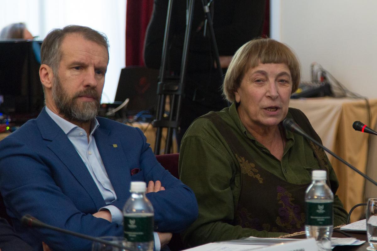 Дмитрий Казаков и Ирина Медведева