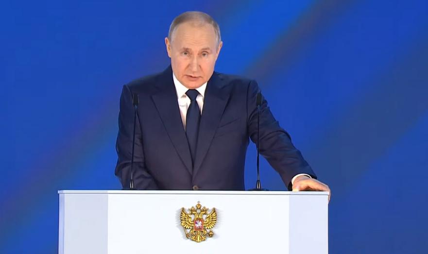 Владимир Путин. Послание Федеральному Собранию 21 апреля 2021 года