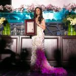 Самое дорогое платье из живых цветов в России.