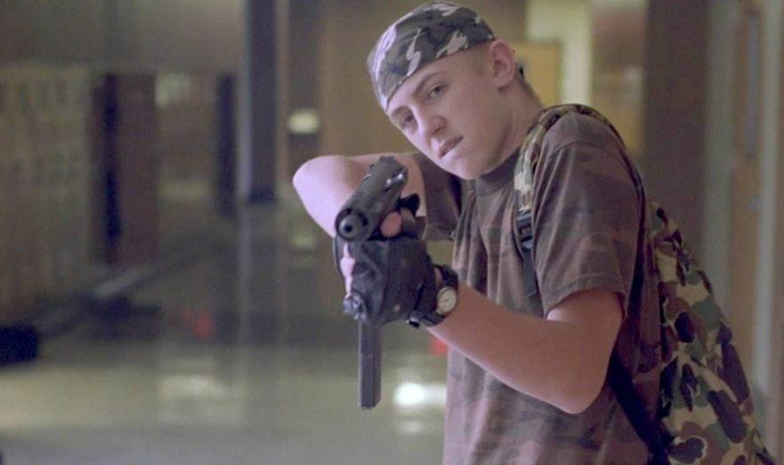 Подросток с оружием