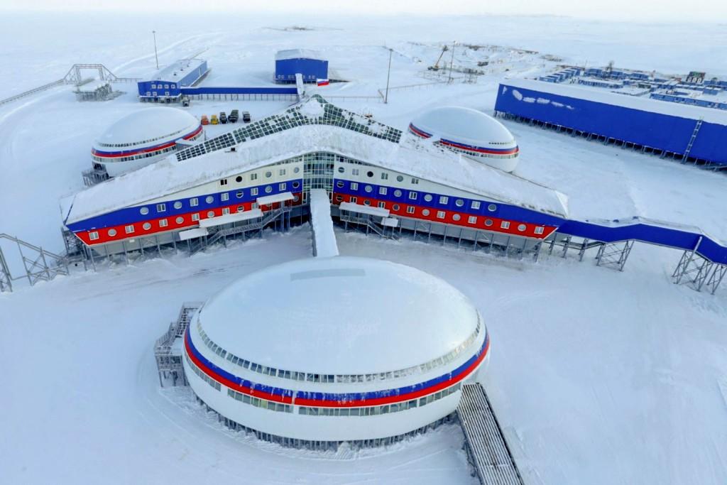 Военная база России в Арктике