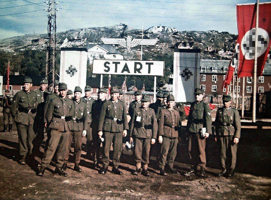Войска Третьего Рейха в Норвегии, 1940