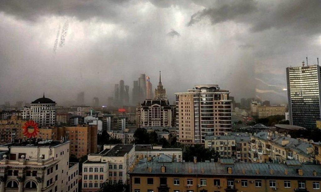 Непогода над Москвой
