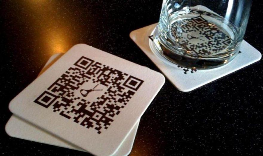 QR-код в ресторане