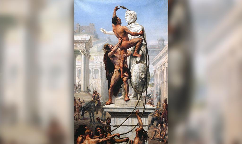 Разграбление Рима варварами в 410 году