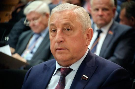 Депутат Госдумы Николай Харитонов