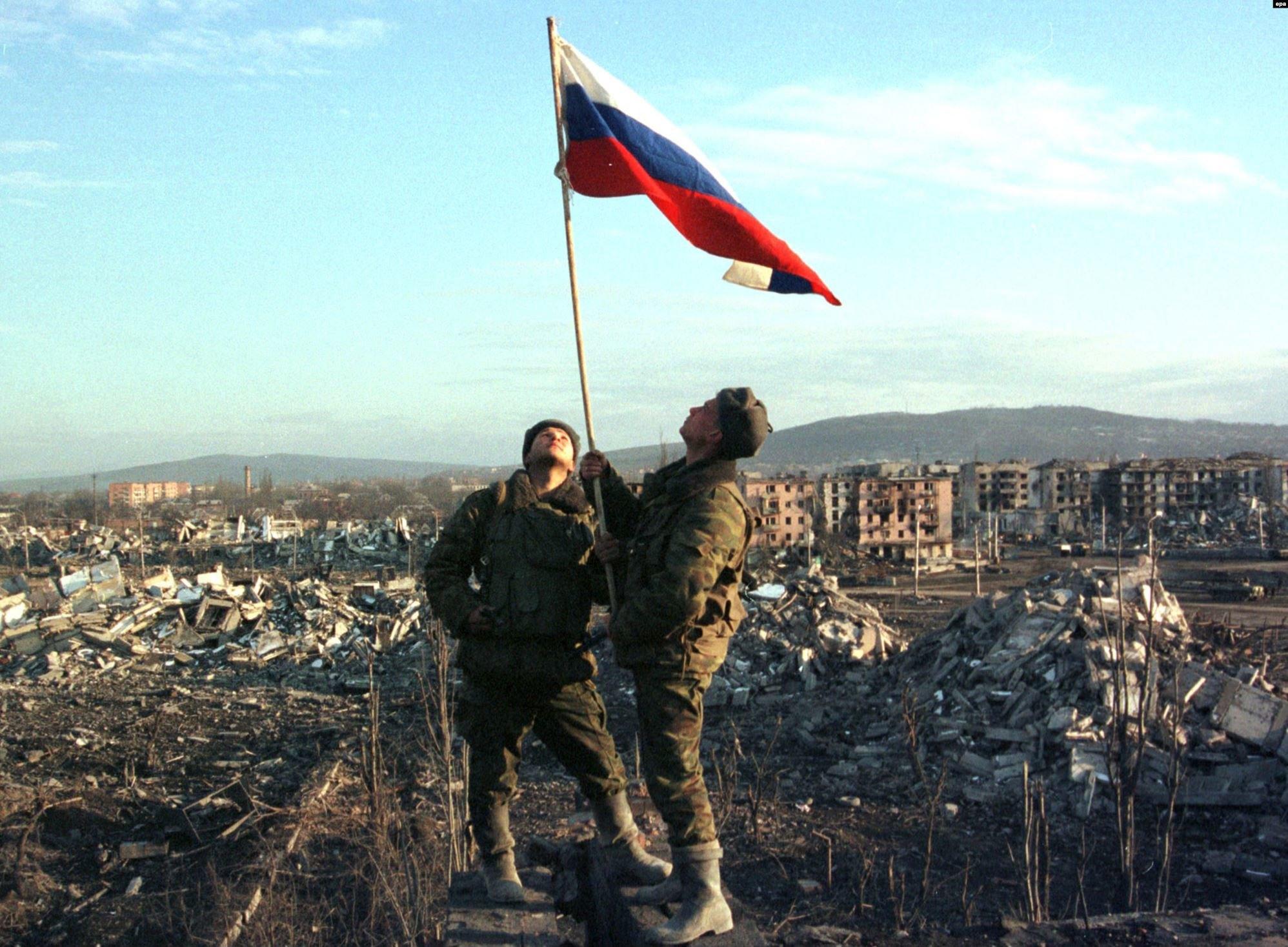 Бои за Грозный 1996
